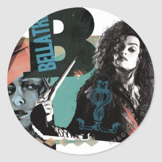 Bellatrix Lestrange 6 Sticker