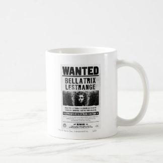 Bellatrix Lestrange Wanted Poster Coffee Mug