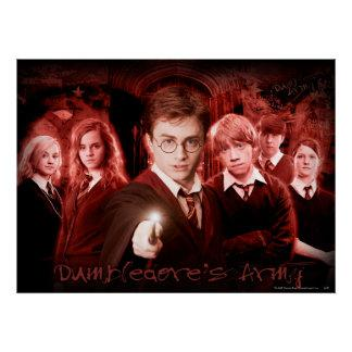 DUMBLEDORE'S ARMY™ POSTER Zazzle_print