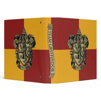 Gryffindor Crest Gold and Red Binder Zazzle_binder