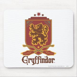 Gryffindor Quidditch Badge Mouse Pad Zazzle_mousepad