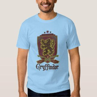 Gryffindor Quidditch Badge Tee Shirt Zazzle_shirt