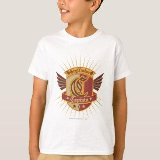 Gryffindor Quidditch Captain Emblem T-Shirt Zazzle_shirt