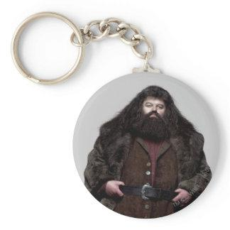 Hagrid and Dog Keychain