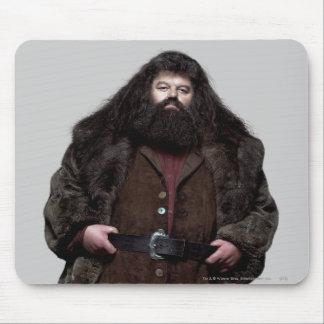 Hagrid and Dog Mouse Pad