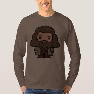 Hagrid Cartoon Character Art T-Shirt