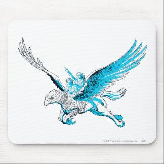 Harry and Hermione on a Hippogriff Mouse Pad Zazzle_mousepad