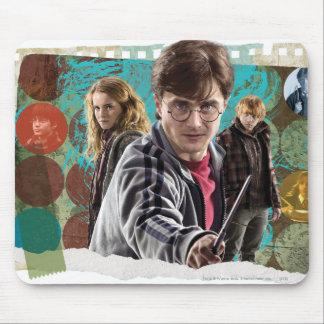Harry, Hermione, and Ron 1 Mouse Pad