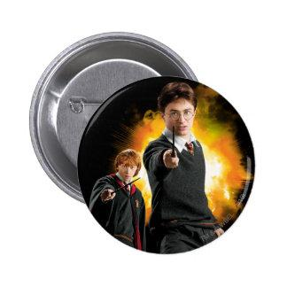 Harry Potter and Ron Weasely 2 Inch Round Button