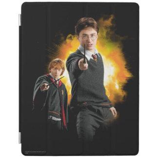 Harry Potter and Ron Weasely iPad Cover