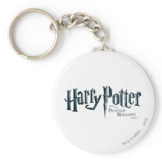 Harry Potter and the Deathly Hallows Logo 1 2 Keychains