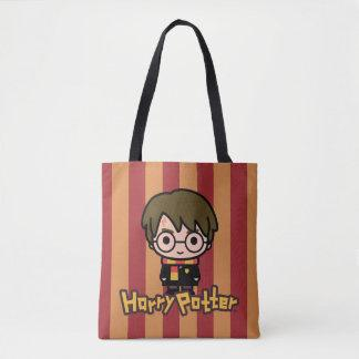Harry Potter Cartoon Character Art Tote Bag Manualww_tote