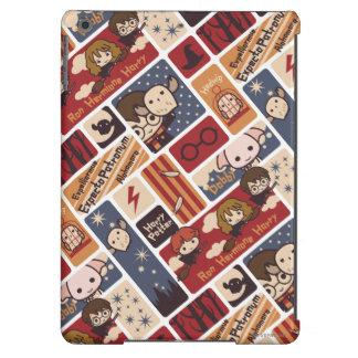 Harry Potter Cartoon Scenes Pattern iPad Air Case
