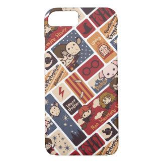 Harry Potter Cartoon Scenes Pattern iPhone 7 Case