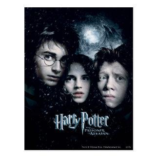 Harry Potter Movie Poster Postcard Zazzle_postcard