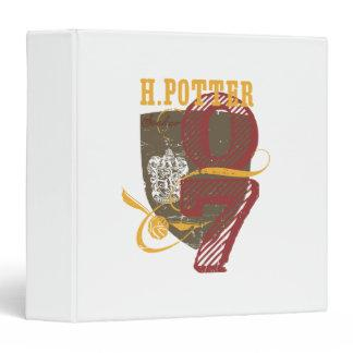 Harry Potter Quidditch 3 Ring Binder