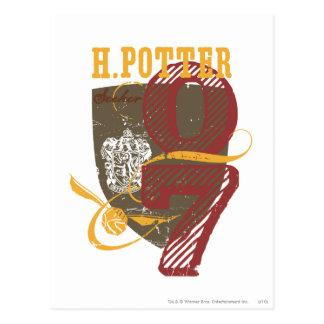 Harry Potter Quidditch Postcard
