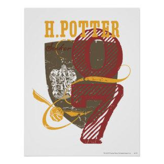 Harry Potter Quidditch Poster