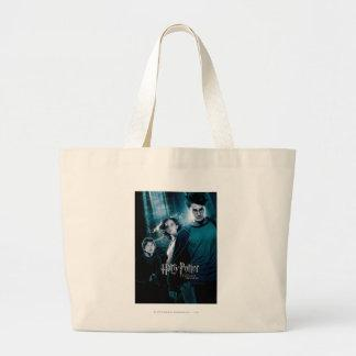 Harry Potter Ron Hermione In Forest Large Tote Bag