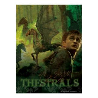 Harry Potter Thestrals Poster Zazzle_print