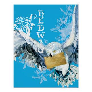 Hedwig Poster Zazzle_print