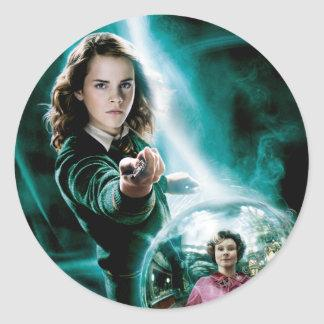 Hermione Granger and Professor Umbridge Classic Round Sticker