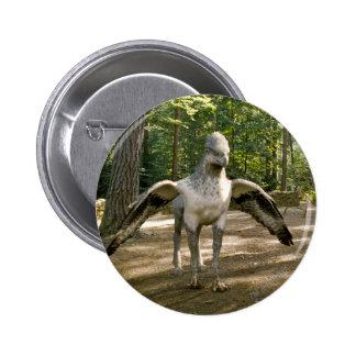 Hippogriff Pinback Button Zazzle_button