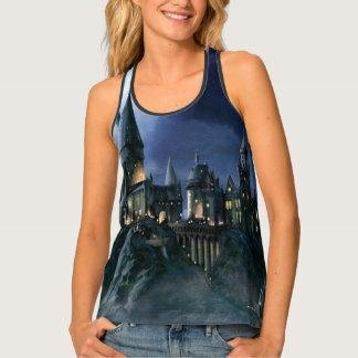 Hogwarts Castle At Night Tank Top
