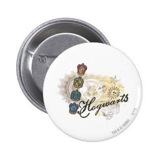 Hogwarts Logo and Professors 2 Button Zazzle_button