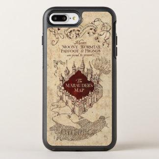 Marauder's Map OtterBox Symmetry iPhone 7 Plus Case Zazzle_otterbox