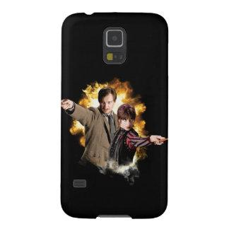 Remus Lupin and Nymphadora Tonks-Lupin Galaxy S5 Covers