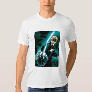 Ron Weasley and Lucius Malfoy T-shirts
