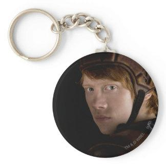 Ron Weasley Geared Up Basic Round Button Keychain