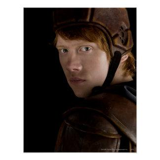 Ron Weasley Geared Up Poster Zazzle_print