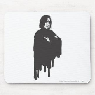 Severus Snape Arms Crossed B-W Mouse Pad