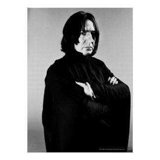 Severus Snape Arms Crossed Poster Zazzle_print