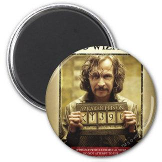 Sirius Black Wanted Poster 2 Inch Round Magnet Zazzle_magnet