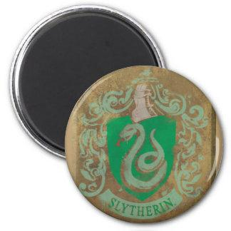Slytherin Crest HPE6 2 Inch Round Magnet