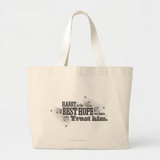 The best hope we have bags