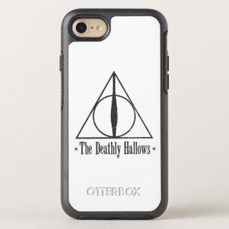 The Deathly Hallows OtterBox Symmetry iPhone 7 Case Zazzle_otterbox