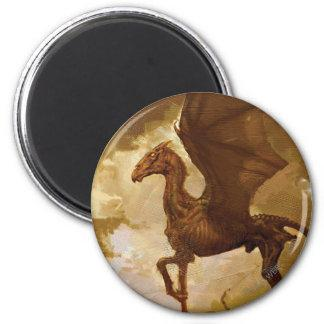 Thestral 2 Inch Round Magnet Zazzle_magnet