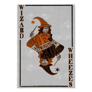 Weasleys' Card Back Poster Zazzle_print